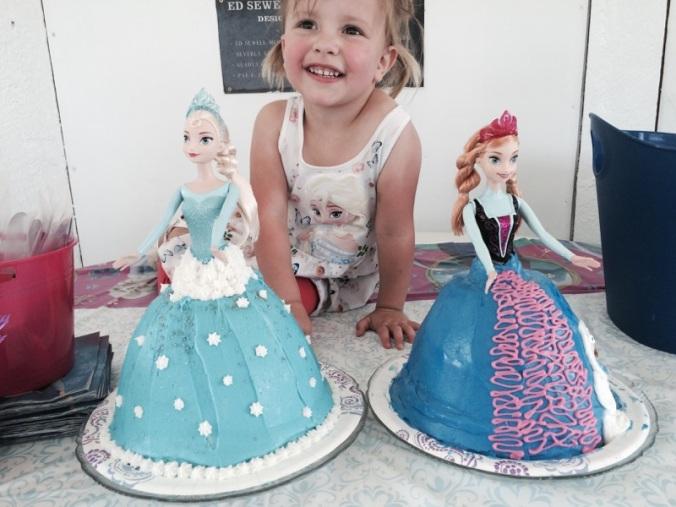 Amelia is three